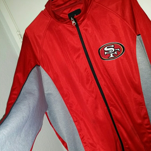 new styles 80de6 c3995 Official NFL 49ers jacket